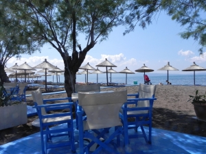 Skala Kalloni beach