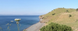 Eftalou - Idyllic Pebbled Beach just 3.5 km away from Molyvos