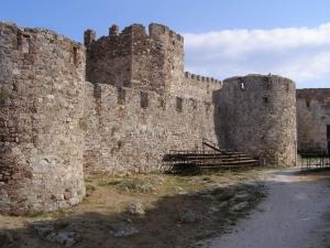 Mytilene castle
