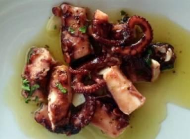 Octopus in Vinegar Sauce