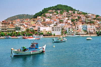 Plomari - The Capital Town of Ouzo!