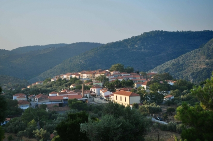 Akrasi - A Hilltop Village close to Plomari