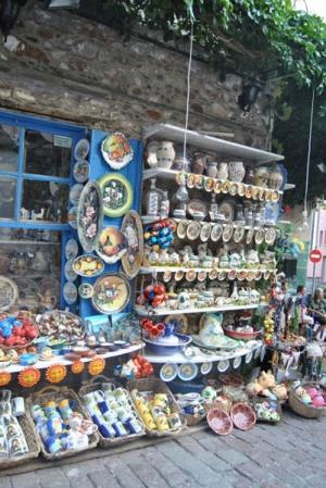 Αγιάσος - Παναγιά της Σιών, Παραδοσιακοί Τεχνίτες και Καϊνάρι