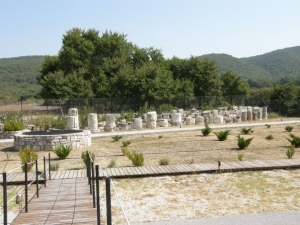 The Temple of Meson - A Historical Monument in Central Lesvos