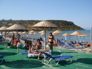 Ksabelia - Sandy, Well-maintained Beach 22km away from Mytilene