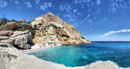 Top Beaches to Go Swimming in the North Eastern Aegean Islands