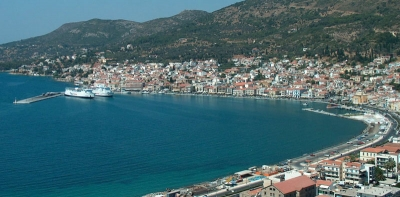 Vathi - The Capital of Samos Island