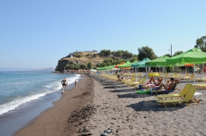 Anaxos Beach - a Sandy Shore 3 km away from Petra