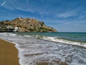 Myrina beach