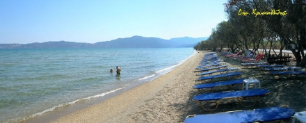Evriaki Beach and Gera Gulf of Lesvos
