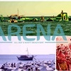 Arena all Day and all Night Beach Bar on Lesvos island