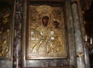 Празднование Пресвятой Богородицы на Агиасос